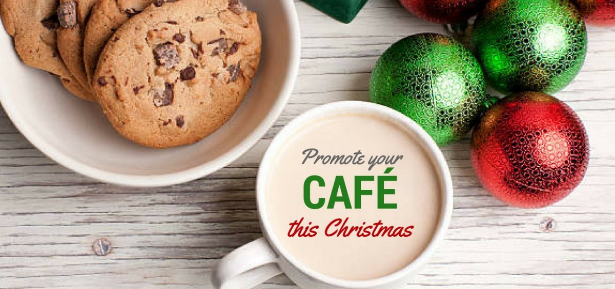 Christmas promotion for Cafe | Zorb Christmas headers