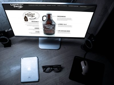 Growler Swap Beer - Website | Zorb Designs - Milton Keynes, UK