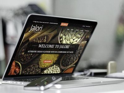 Website - Jalori Indian  | Zorb Designs - Milton Keynes, UK