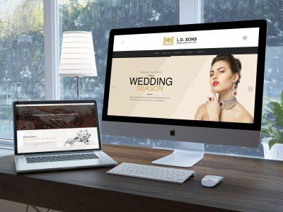LD Sons - Website | Zorb Designs - New Delhi, India