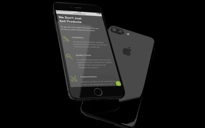 Rubber Trends - Website Phone | Zorb Designs - Milton Keynes, UK